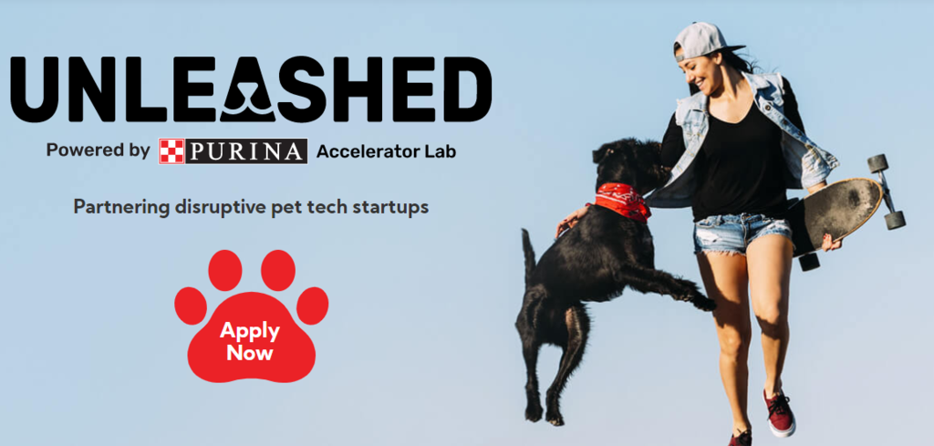 Calling all PetTech companies, to apply now, for the UNLEASHED Accelerator 24-week programme !