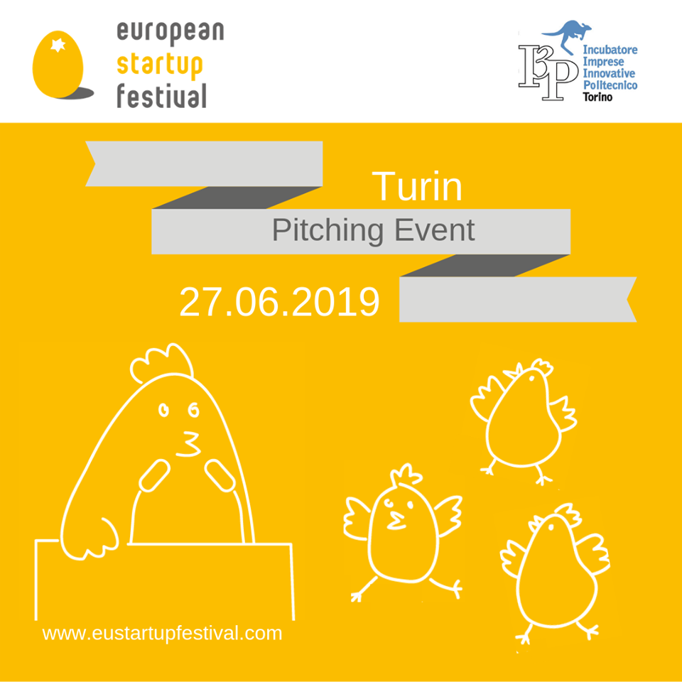 Apply for the next Turin Pitching Match in Italy - 27/06/2019