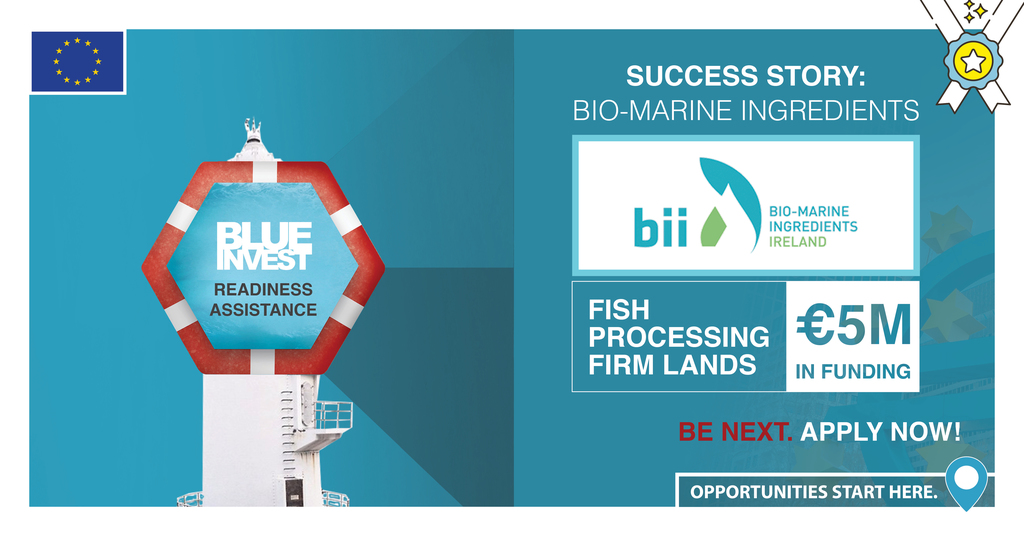 BlueInvest Readiness Assistance: Fish Processing Firm Lands €5 million in funding!