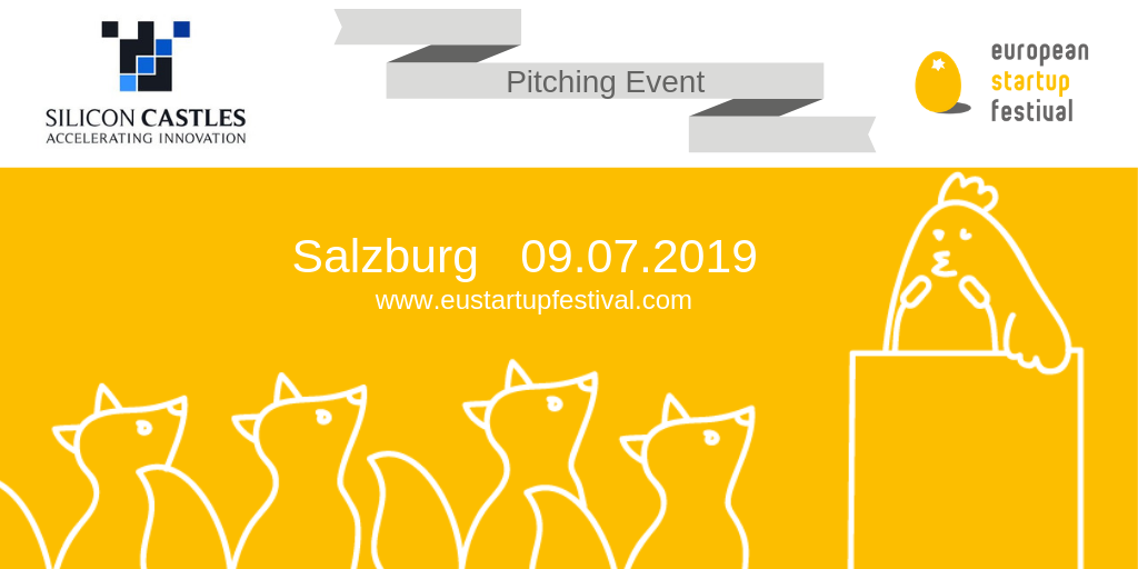 Pitching event in Austria organized by European Startup Association
