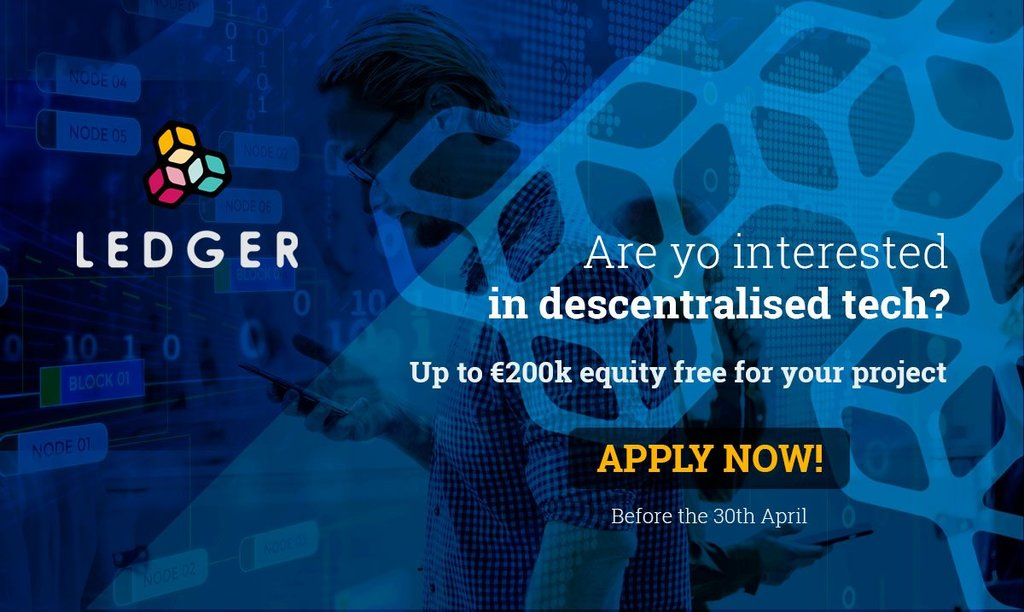 Apply NOW! Venture Builder LEDGER Seeks Human-Centric Innovations