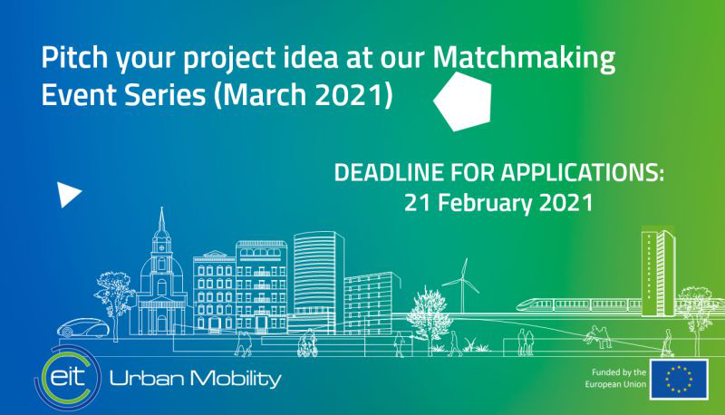 Calling all start-up to the EIT Urban Mobility