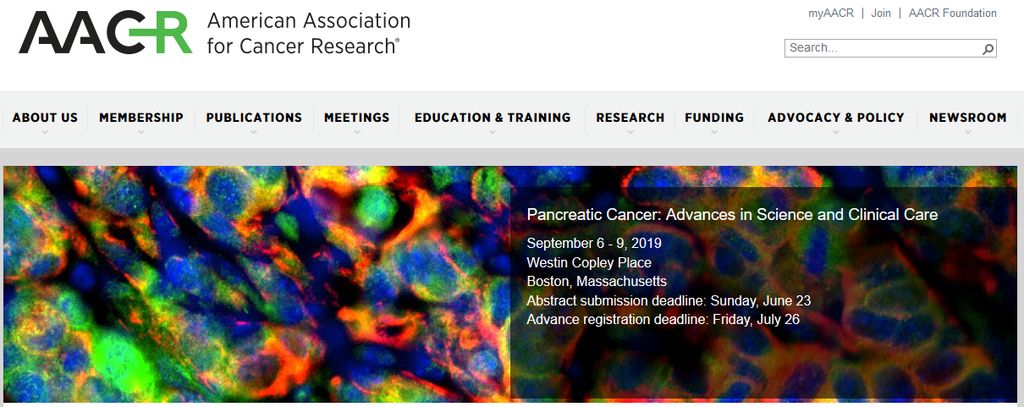 Acobiom invited by AACR to attend its meeting on pancreatic cancer (Boston, USA)