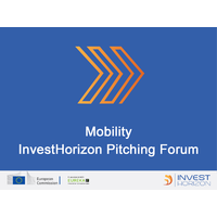 Top Mobility Companies -  InvestHorizon Pitching Forum