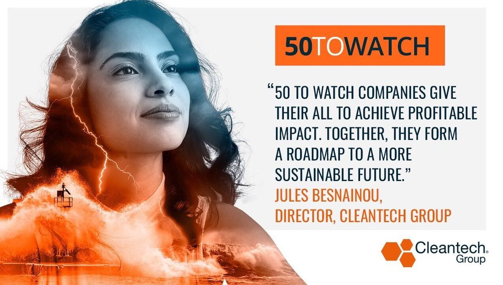 TechnoCarbon in the the Cleantech Group 50 to Watch list