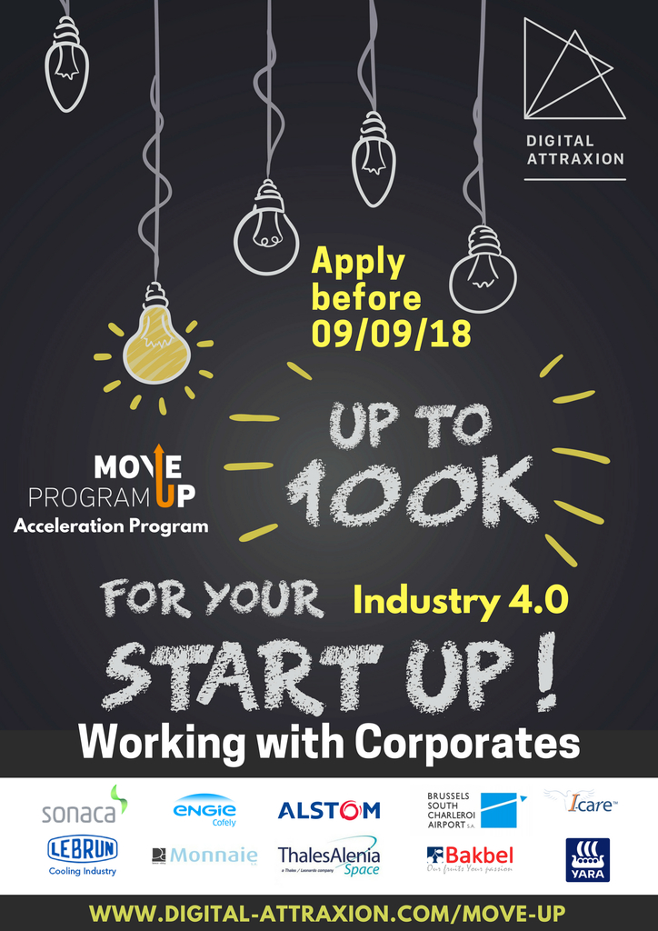 Call for applications for the second MoveUp Program.  Applications open till September 9th 2018