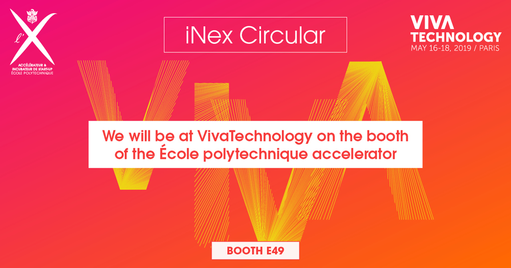 iNex circular will be at Vivatech 2019 !