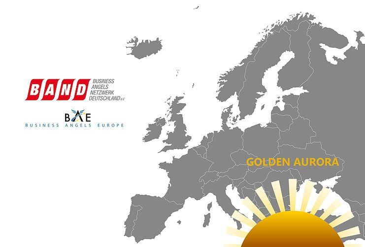 "The Golden Aurora 2019 for ""Europe's Female Angel Investor of the year"""