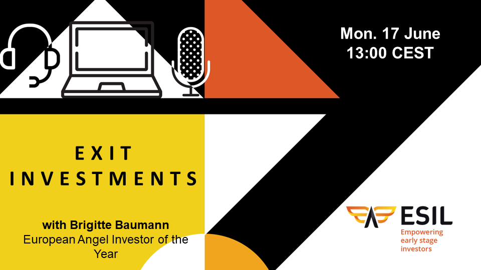 ESIL Webinar - Exit Investments - Monday 17th of June at 13:00