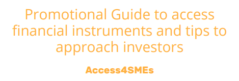 Access4SMEs Promotional Guide on InnovFin products