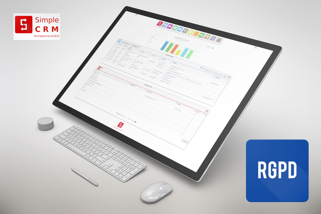"Article Regional-it: ""Simple CRM: une version 7 qui préfigure un nouveau modèle commercial"""
